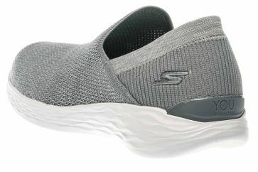 Skechers YOU RISE Sneakers in Übergrößen Grau 14958/GRY große Damenschuhe – Bild 2