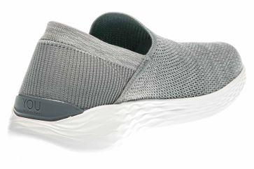 Skechers YOU RISE Sneakers in Übergrößen Grau 14958/GRY große Damenschuhe – Bild 3