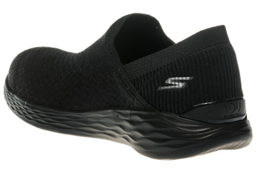 Skechers YOU TRANSCEND Sneakers in Übergrößen Schwarz 14959/BBK große Damenschuhe – Bild 2