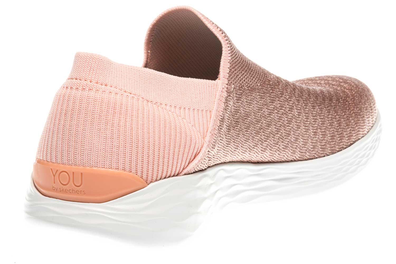 Skechers YOU TRANSCEND Sneakers in Übergrößen Pink 14959/PCH große Damenschuhe – Bild 3