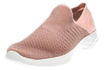 Skechers YOU TRANSCEND Sneakers in Übergrößen Pink 14959/PCH große Damenschuhe