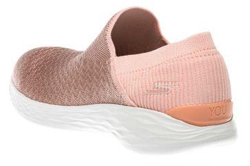Skechers YOU TRANSCEND Sneakers in Übergrößen Pink 14959/PCH große Damenschuhe – Bild 2