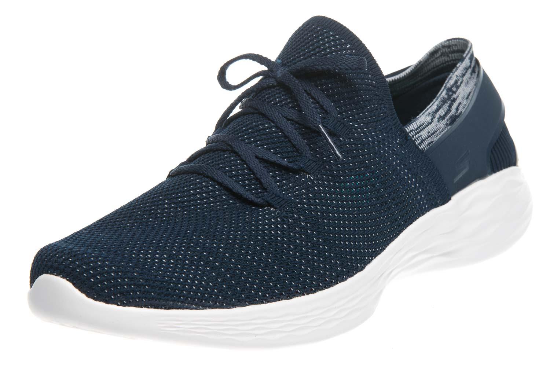 Skechers YOU SPIRIT Sneakers in Übergrößen Blau 14960/NVW große Damenschuhe – Bild 1