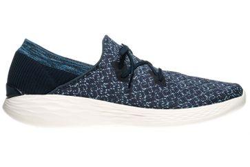 Skechers YOU EXHALE Sneakers in Übergrößen Blau 14964/NVY große Damenschuhe – Bild 4
