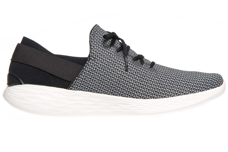 Skechers YOU UPLIFT Sneakers in Übergrößen Schwarz 14965/BKW große Damenschuhe – Bild 4