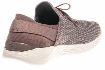 Skechers YOU UPLIFT Sneakers in Übergrößen Bordo 14965/MVE große Damenschuhe – Bild 3
