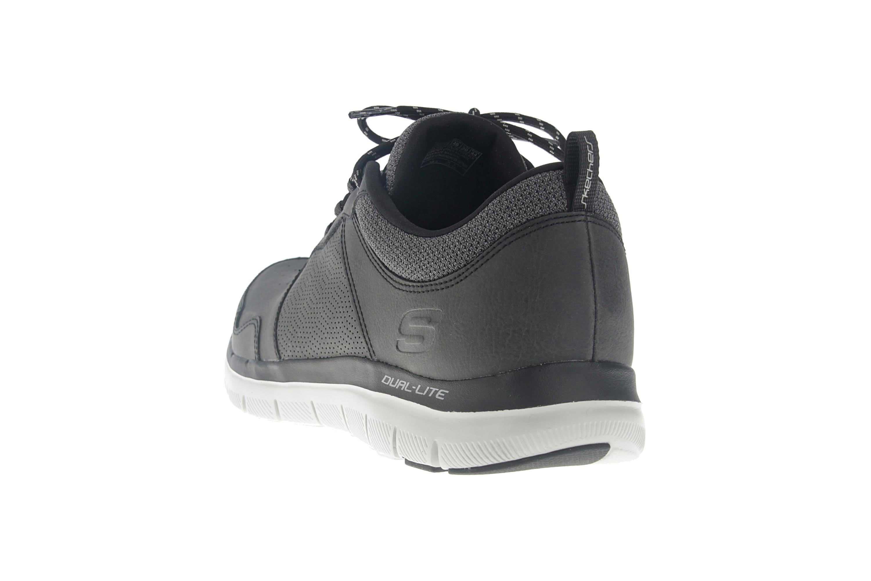 Skechers FLEX ADVANTAGE 2.0 DALI Sneakers in Übergrößen Schwarz 52124/BLK große Herrenschuhe – Bild 2