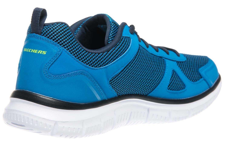 Skechers TRACK BUCOLO Sportschuhe/Laufschuhe in Übergrößen Blau 52630/BLLM große Herrenschuhe – Bild 3