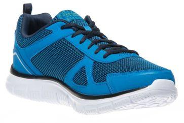 Skechers TRACK BUCOLO Sportschuhe/Laufschuhe in Übergrößen Blau 52630/BLLM große Herrenschuhe – Bild 5