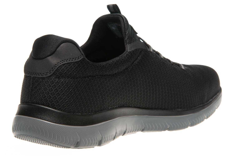 Skechers SUMMITS Sneakers in Übergrößen Schwarz 52811/BKCC große Herrenschuhe – Bild 3