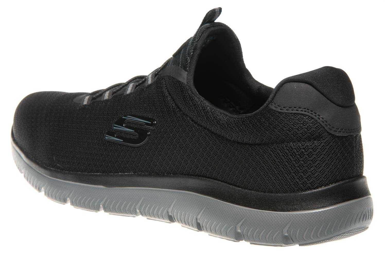 Skechers SUMMITS Sneakers in Übergrößen Schwarz 52811/BKCC große Herrenschuhe – Bild 2