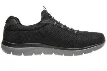 Skechers SUMMITS Sneakers in Übergrößen Schwarz 52811/BKCC große Herrenschuhe – Bild 4