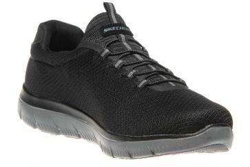 Skechers SUMMITS Sneakers in Übergrößen Schwarz 52811/BKCC große Herrenschuhe – Bild 5