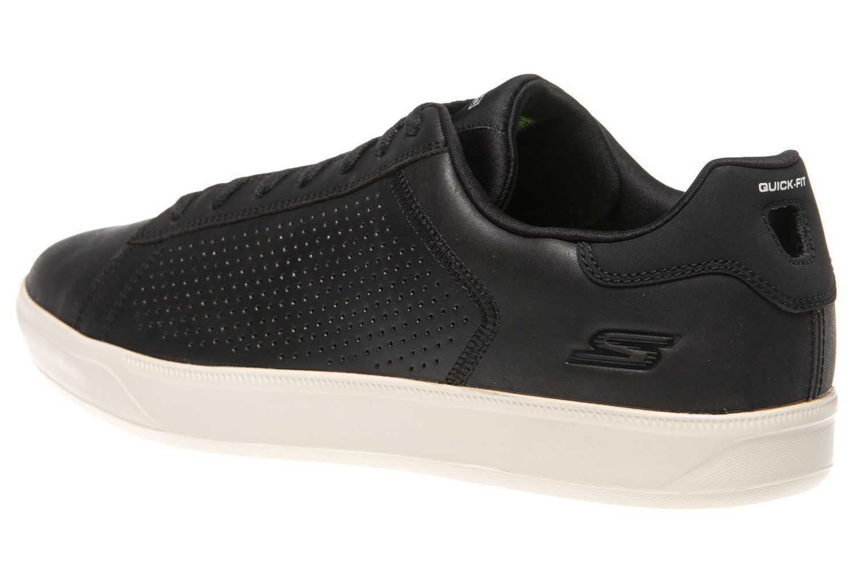 Skechers GO VULC 2 GRANDEUR Sneakers in Übergrößen Schwarz 54323/BKNT große Herrenschuhe – Bild 2