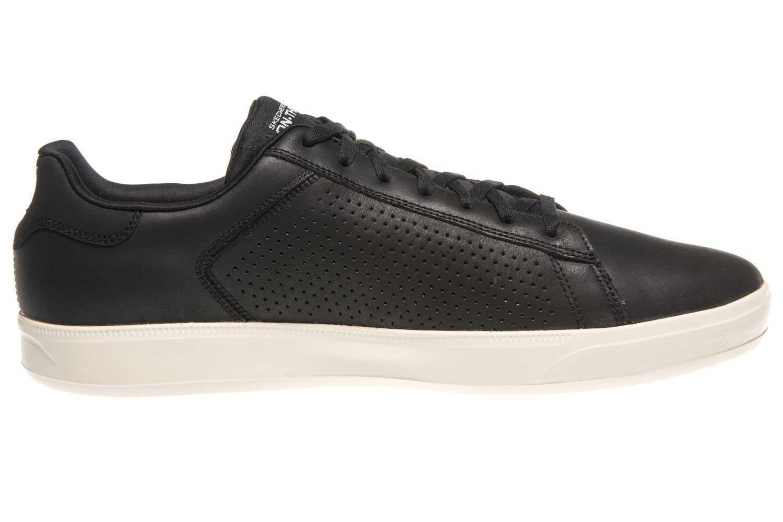Skechers GO VULC 2 GRANDEUR Sneakers in Übergrößen Schwarz 54323/BKNT große Herrenschuhe – Bild 4