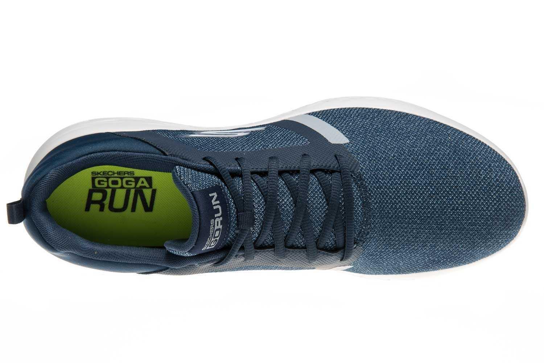 Skechers GO RUN 600 REVEL Sportschuhe/Laufschuhe in Übergrößen Blau 55069/NVY große Herrenschuhe – Bild 6