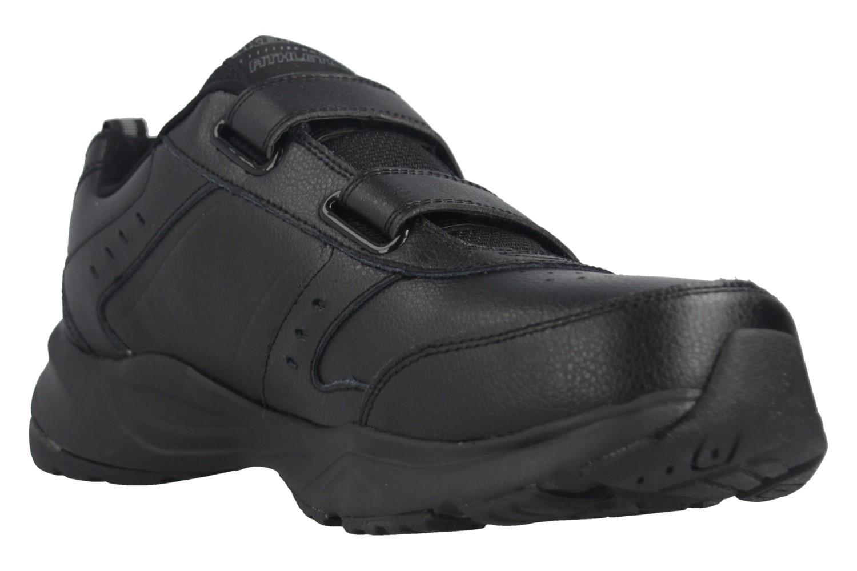 Skechers HANIGER CASSPI Sneakers in Übergrößen Schwarz 58356/BBK große Herrenschuhe – Bild 6