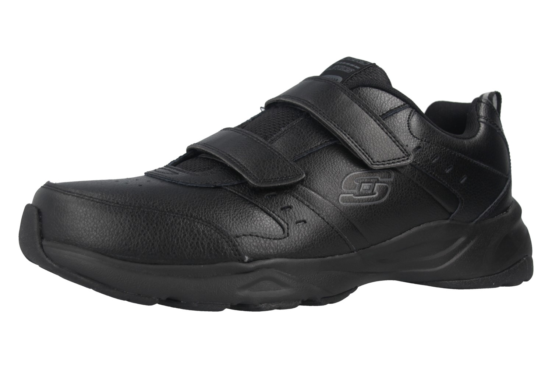 Skechers HANIGER CASSPI Sneakers in Übergrößen Schwarz 58356/BBK große Herrenschuhe – Bild 1