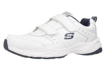 Skechers HANIGER CASSPI Sneakers in Übergrößen Weiß 58356/WNV große Herrenschuhe