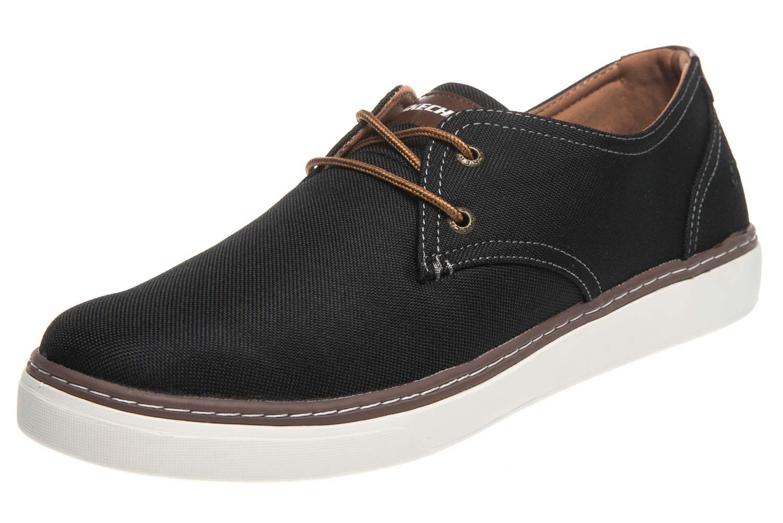 Skechers PALEN GADON Sneakers in Übergrößen Schwarz 64925/BLK große Herrenschuhe – Bild 1