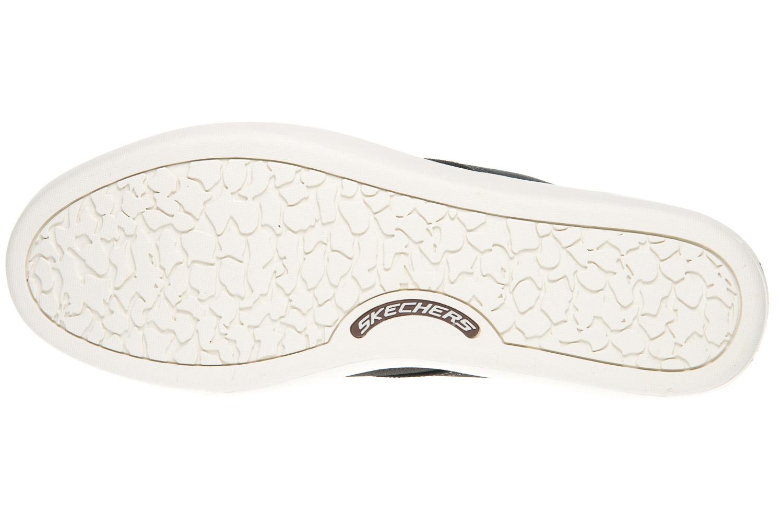 Skechers PALEN GADON Sneakers in Übergrößen Schwarz 64925/BLK große Herrenschuhe – Bild 6