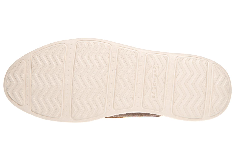Skechers STATUS BRESON Sneakers in Übergrößen Braun 65505/BRN große Herrenschuhe – Bild 6
