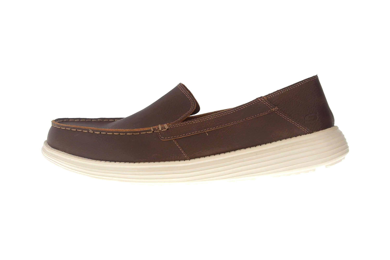 Skechers STATUS BRESON Sneakers in Übergrößen Braun 65505/BRN große Herrenschuhe – Bild 1