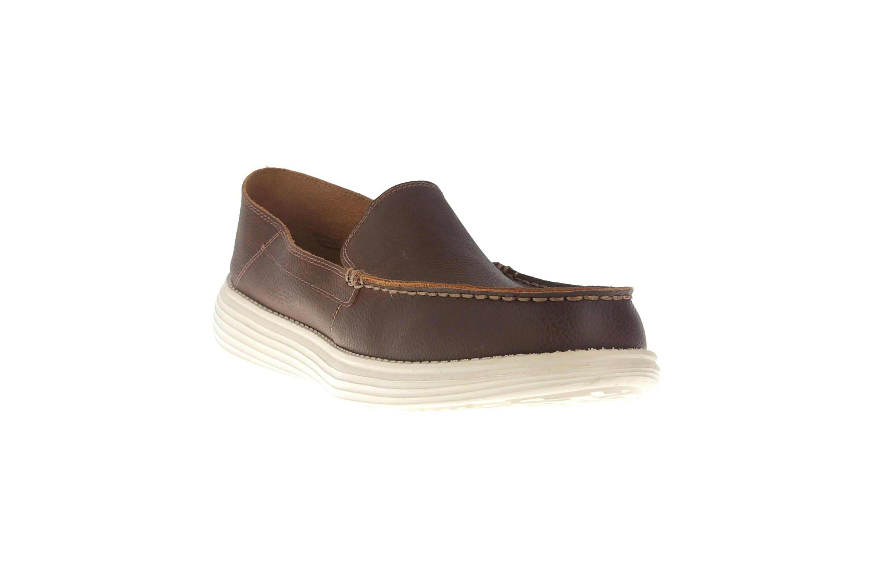 Skechers STATUS BRESON Sneakers in Übergrößen Braun 65505/BRN große Herrenschuhe – Bild 5
