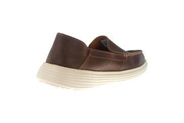 Skechers STATUS BRESON Sneakers in Übergrößen Braun 65505/BRN große Herrenschuhe – Bild 3