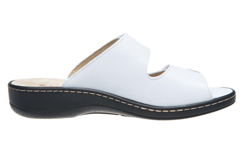 Hickersberger Vario Pantoletten in Übergrößen Weiß 5119 8101 große Damenschuhe – Bild 4