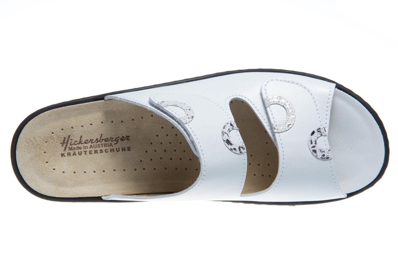 Hickersberger Vario Pantoletten in Übergrößen Weiß 5119 8101 große Damenschuhe – Bild 6