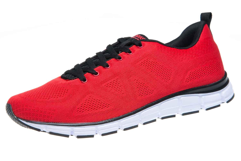 5203 Übergrößen 0077 Herrenschuhe Rot Große Sneaker In Boras JcFKl1