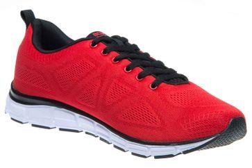 BORAS Sneaker in Übergrößen Rot 5203-0077 große Herrenschuhe – Bild 5
