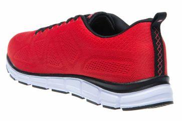 BORAS Sneaker in Übergrößen Rot 5203-0077 große Herrenschuhe – Bild 2