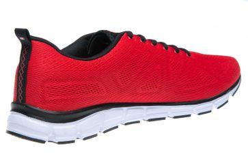 BORAS Sneaker in Übergrößen Rot 5203-0077 große Herrenschuhe – Bild 3