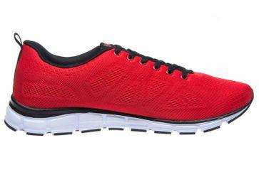 BORAS Sneaker in Übergrößen Rot 5203-0077 große Herrenschuhe – Bild 4