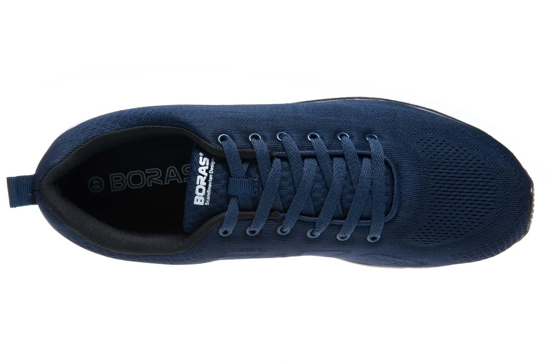 BORAS Sneaker in Übergrößen Blau 5203-0051 große Herrenschuhe – Bild 6