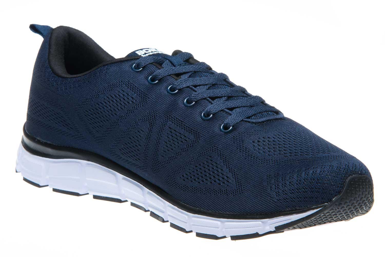 BORAS Sneaker in Übergrößen Blau 5203-0051 große Herrenschuhe – Bild 5
