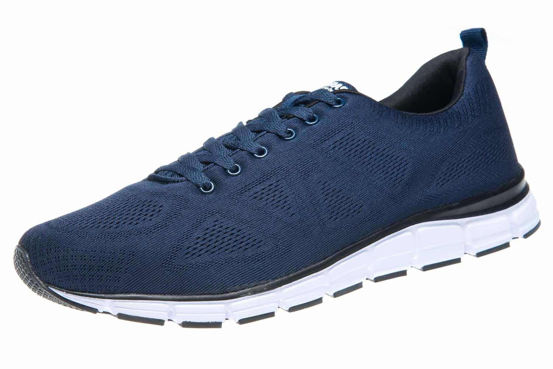 BORAS Sneaker in Übergrößen Blau 5203-0051 große Herrenschuhe – Bild 1
