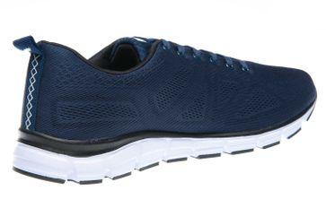 BORAS Sneaker in Übergrößen Blau 5203-0051 große Herrenschuhe – Bild 3