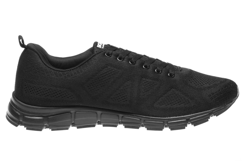 BORAS Sneaker in Übergrößen Schwarz 5203-0001 große Herrenschuhe – Bild 4