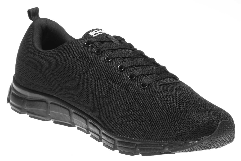 BORAS Sneaker in Übergrößen Schwarz 5203-0001 große Herrenschuhe – Bild 5
