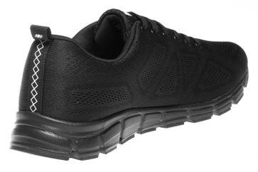 BORAS Sneaker in Übergrößen Schwarz 5203-0001 große Herrenschuhe – Bild 3