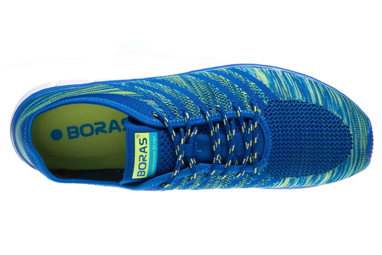 BORAS Sneaker in Übergrößen Blau 5200-1521 große Herrenschuhe – Bild 6