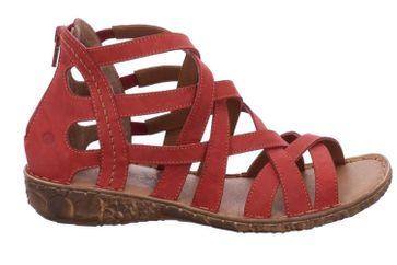 Josef Seibel Rosalie 17 Sandalen in Übergrößen Rot 7957 95 450 große Damenschuhe – Bild 4