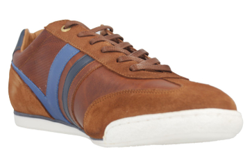 PANTOFOLA D'ORO Sneaker in Übergrößen Braun 10181068.JCU große Herrenschuhe – Bild 6