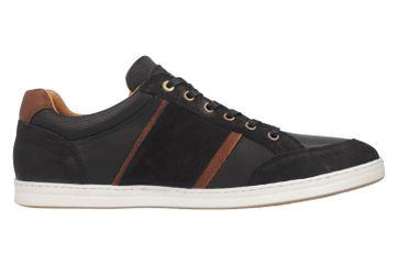 PANTOFOLA D'ORO Sneaker in Übergrößen Schwarz 10181069.25Y große Herrenschuhe – Bild 5