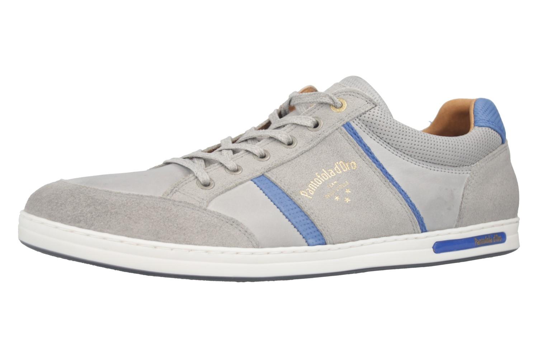 PANTOFOLA D'ORO Sneaker in Übergrößen Grau 10181069.3JW große Herrenschuhe  – Bild 1