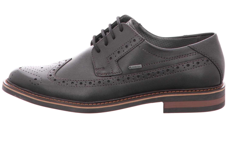FRETZ MEN Business Schuhe in Übergrößen Schwarz 8952.4844-51 große Herrenschuhe – Bild 1