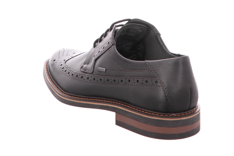 FRETZ MEN Business Schuhe in Übergrößen Schwarz 8952.4844-51 große Herrenschuhe – Bild 3
